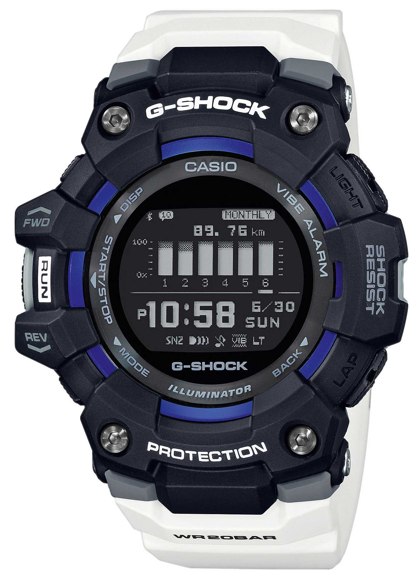 G-Shock Casio Armbanduhr GBD-100-1A7ER Casio Watch