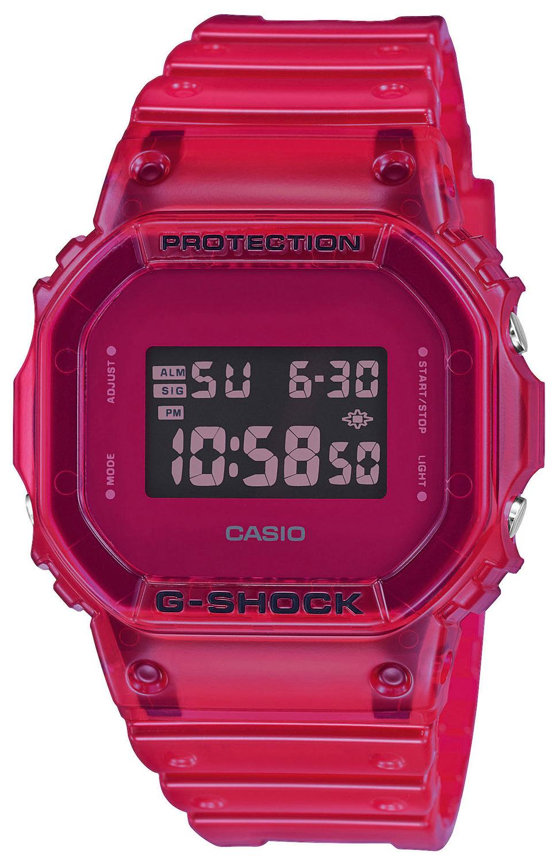 Casio Uhr G-Shock Armbanduhr DW-5600SB-4ER
