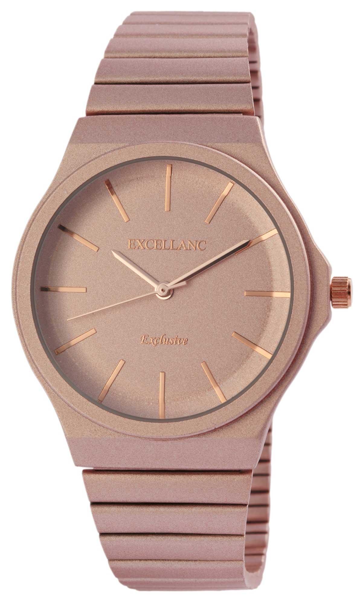 Damenuhr Armbanduhr Excellanc analog Uhr rose