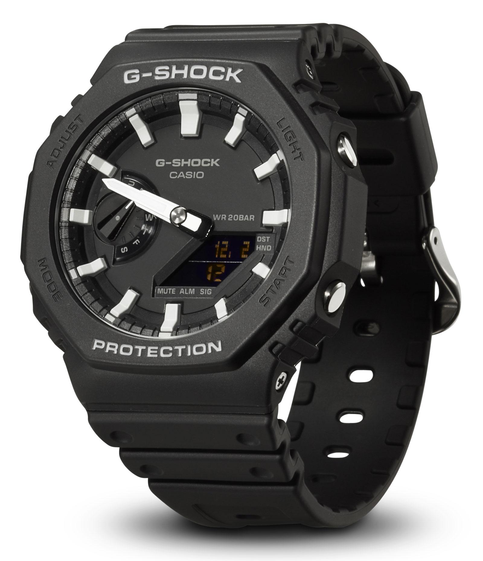Casio G-Shock Uhr GA-2100-1AER Armbanduhr