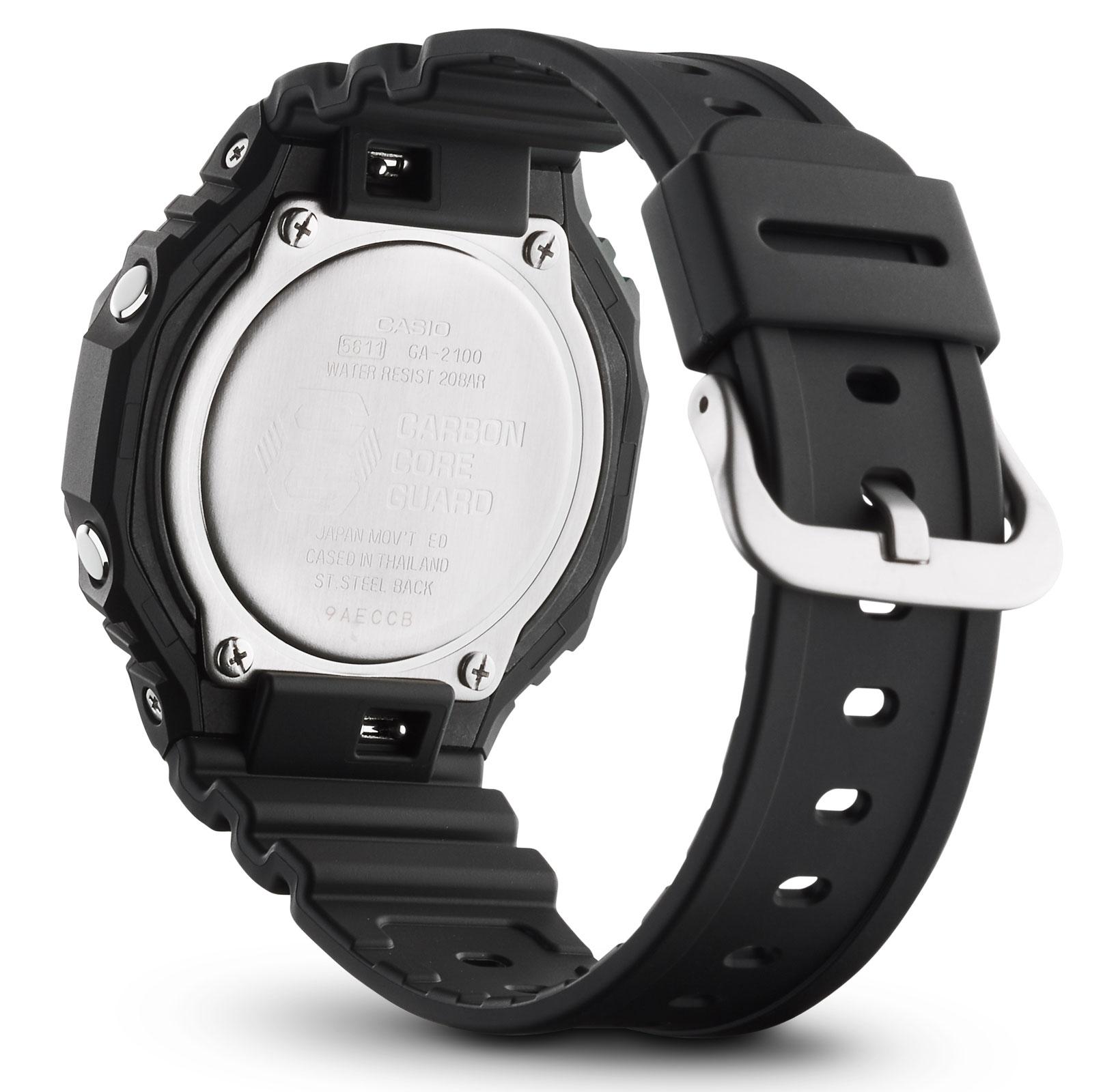 Casio G-Shock Uhr GA-2100-1A1ER Armbanduhr