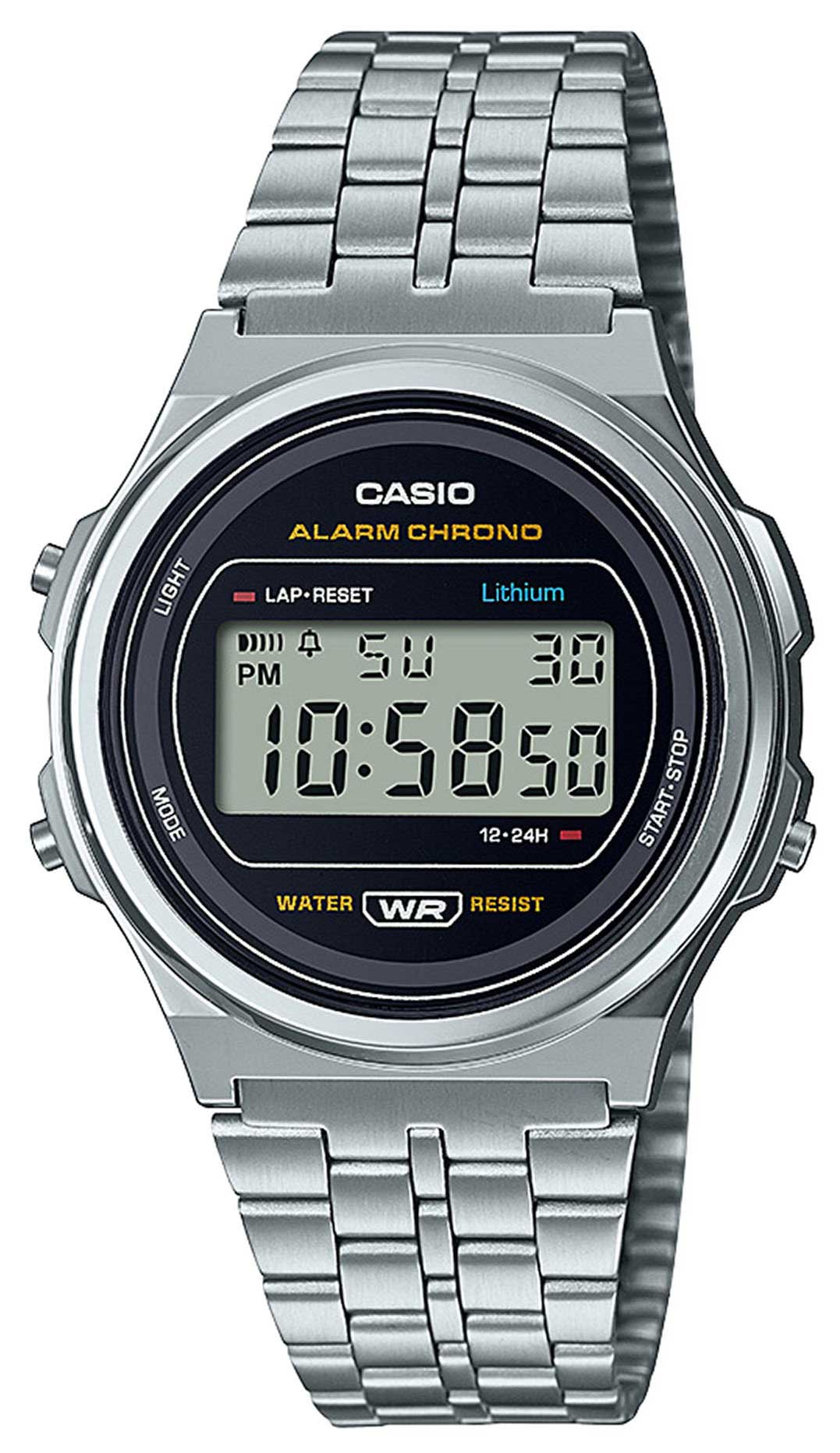 Casio Vintage Armbanduhr A171WE-1AEF Uhr