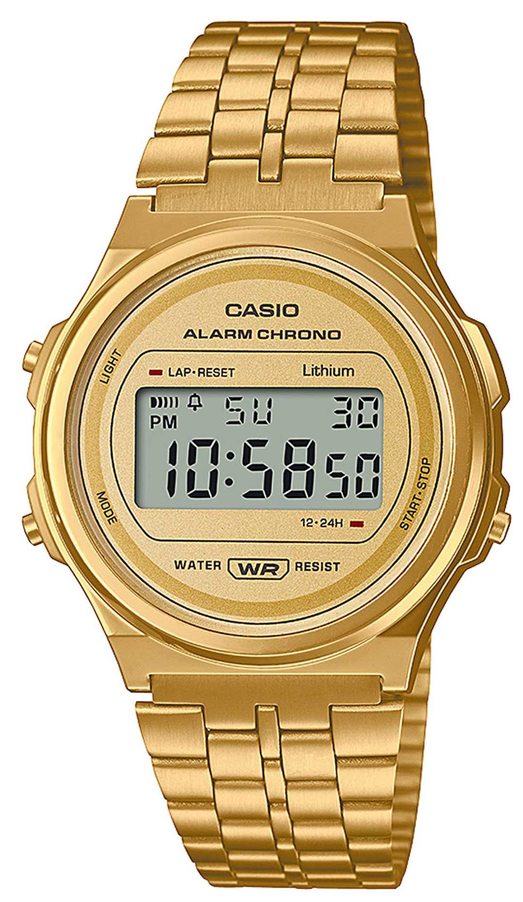 Casio Vintage Armbanduhr A171WEG-9AEF