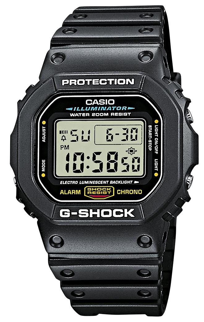Casio Uhr G-Shock Armbanduhr DW-5600E-1VER