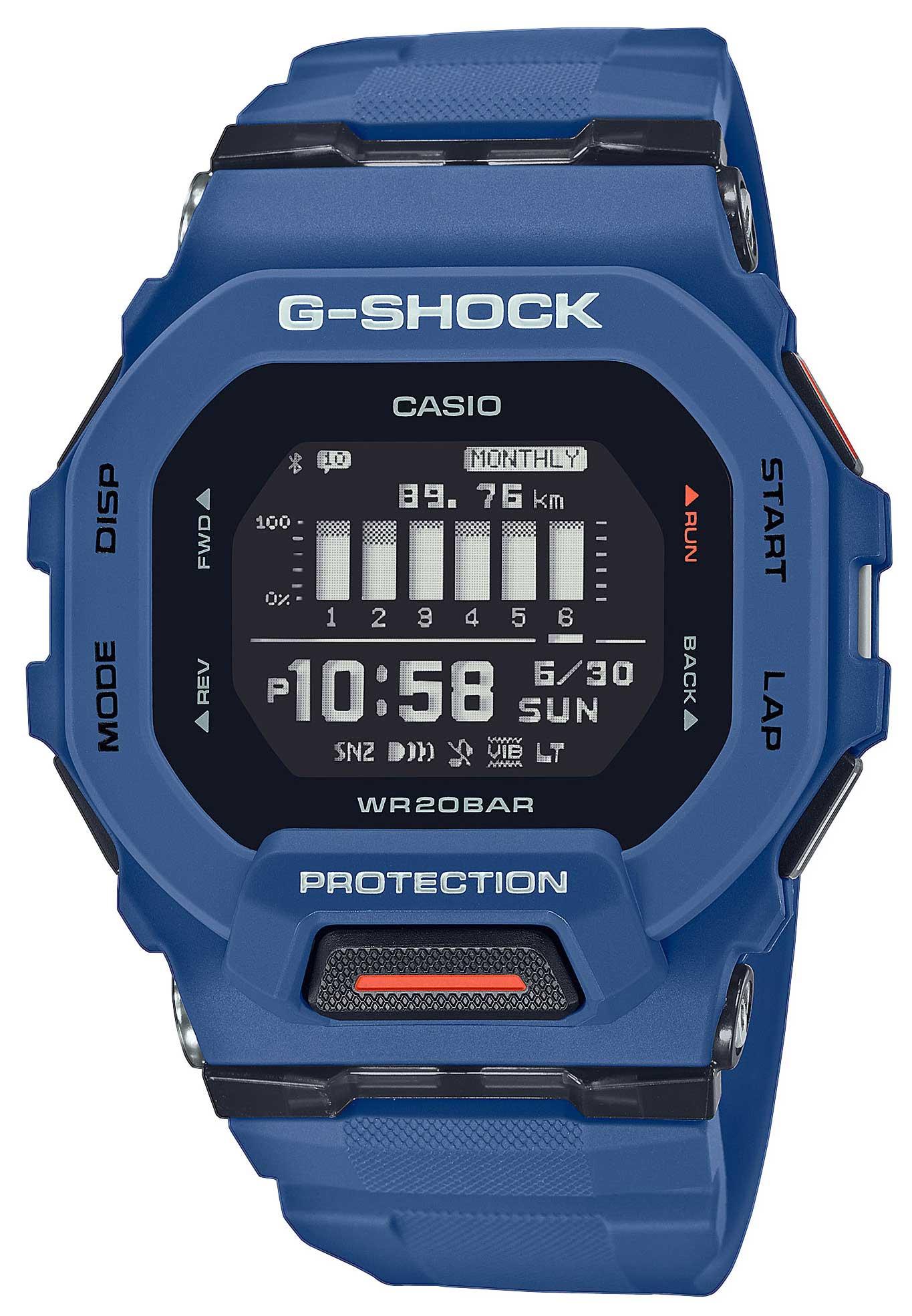 Casio G-Shock G-Squad Armbanduhr GBD-200-2ER blau