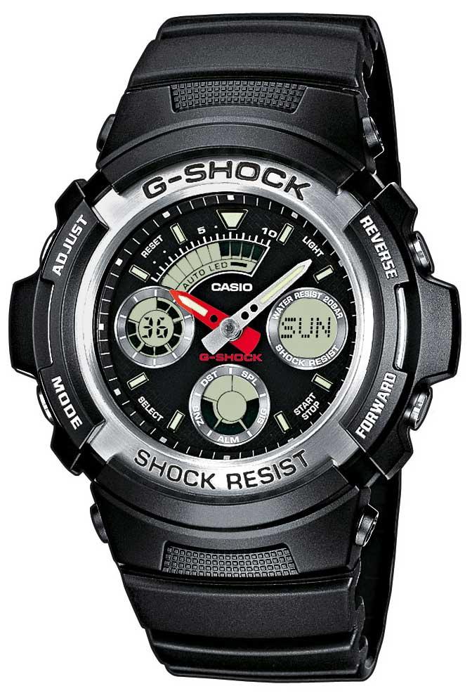Casio G-SHOCK AW-590-1AER Armbanduhr
