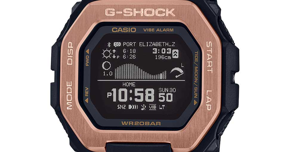 G-Shock Casio Armbanduhr GBX-100NS-4ER
