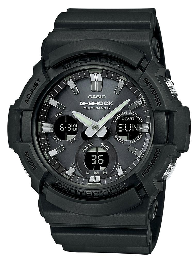 Casio G-Shock Armbanduhr GAW-100B-1AER Funkuhr Solar