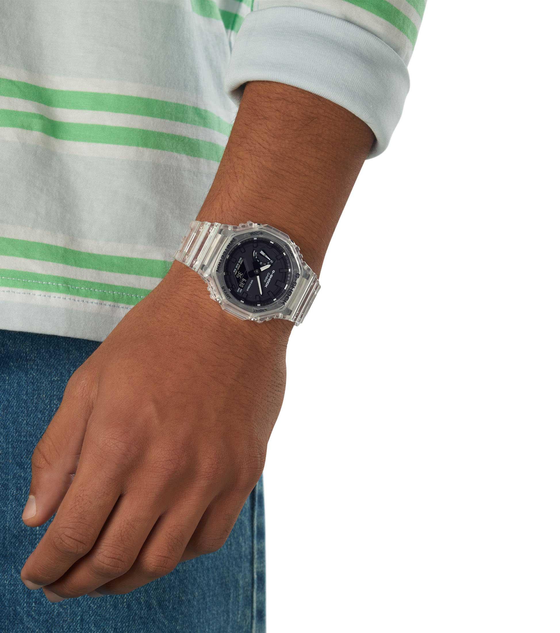 Casio G-Shock Uhr GA-2100SKE-7AER Armbanduhr