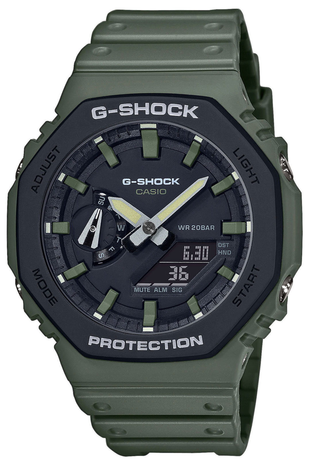 Casio G-Shock Uhr GA-2110SU-3AER Armbanduhr