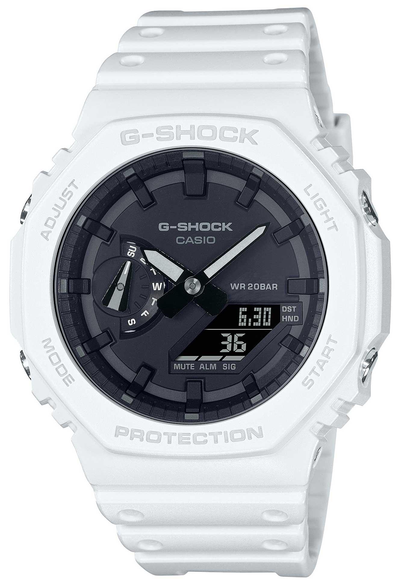 Casio G-Shock Uhr GA-2100-7AER Armbanduhr