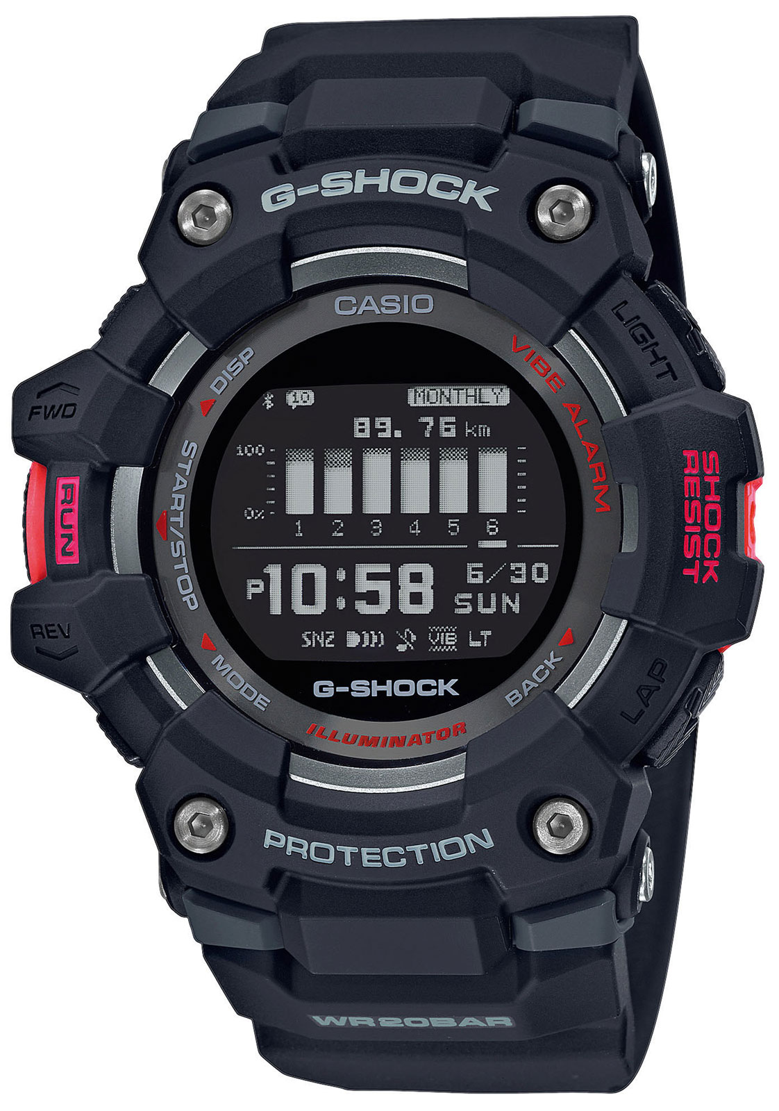 G-Shock Casio Armbanduhr GBD-100-1ER Casio Watch