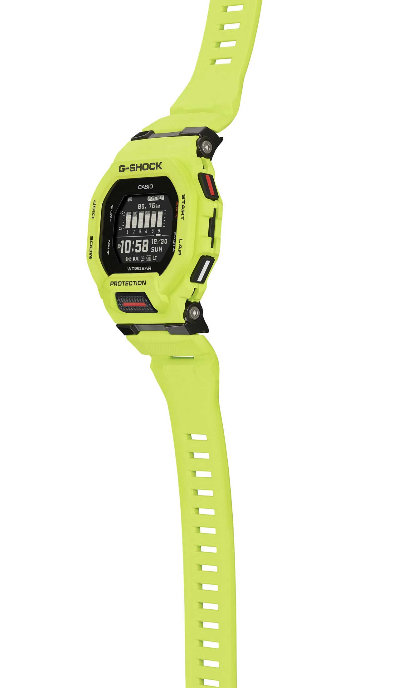 Casio G-Shock G-Squad Armbanduhr GBD-200-9ER