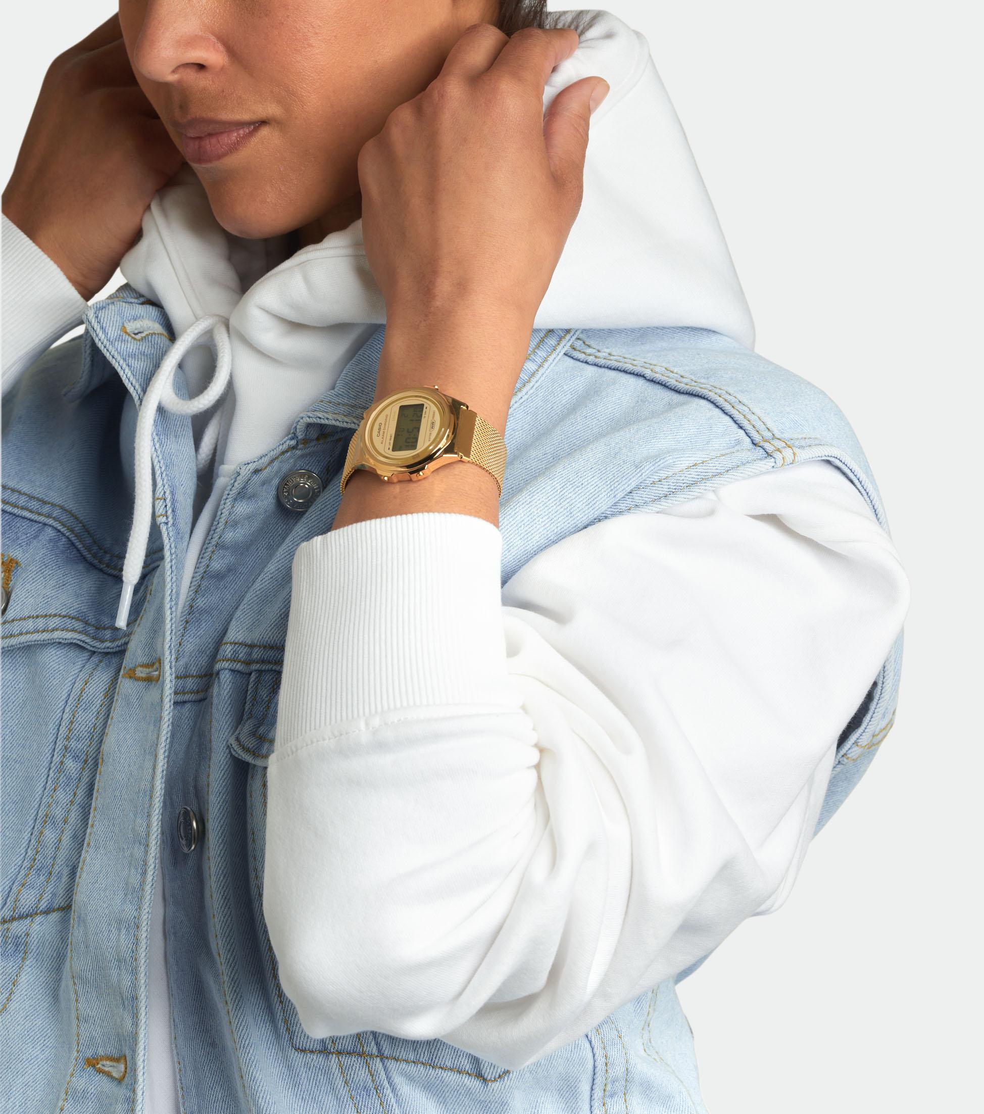 Casio Armbanduhr A171WEMG-9AEF