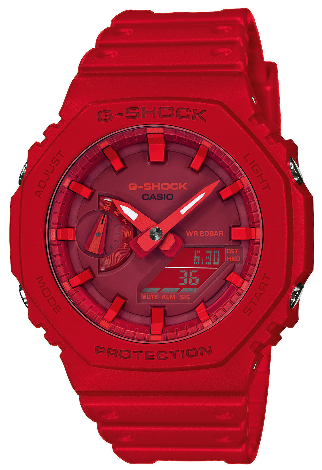Casio G-Shock Uhr GA-2100-4AER Armbanduhr